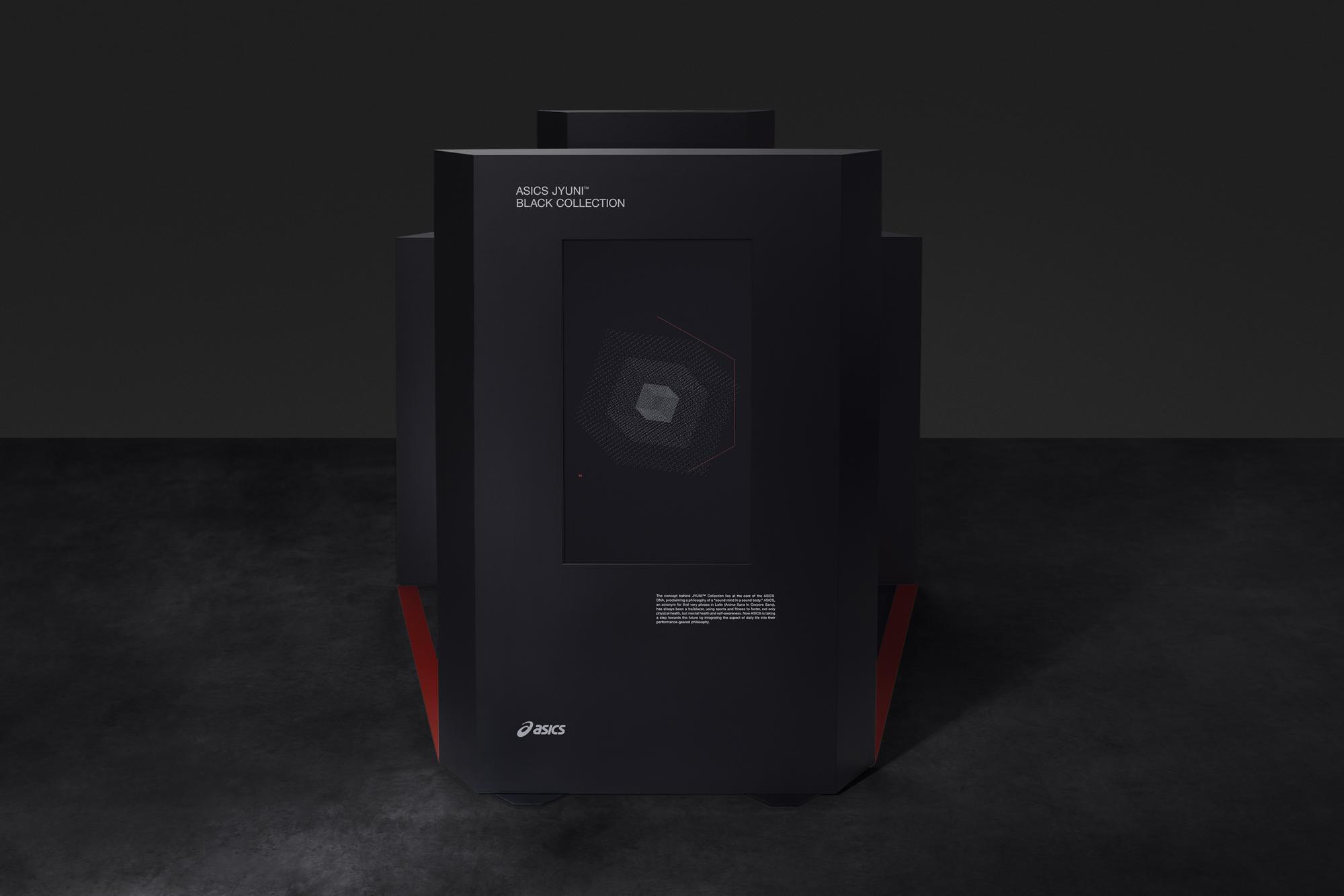 Asics Jyuni Black Hexacube